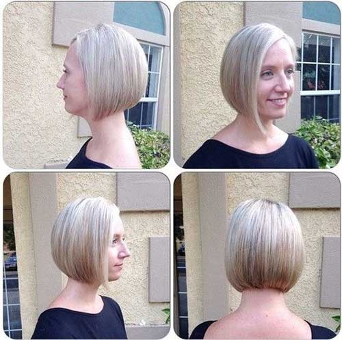 Short Straight Hairstyle-8