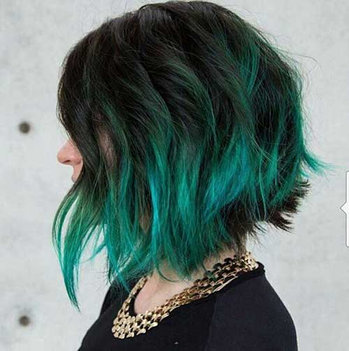 Color Hairstyles for Short Hair
