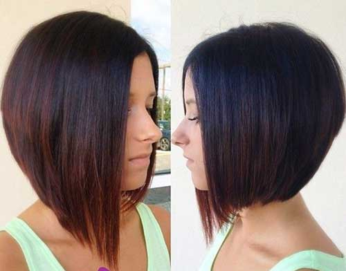 Short Straight Haircut