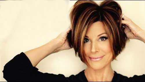 Best Bouncy Short Haircuts for Women 2015