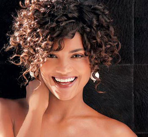short haircuts for thick curly hair and round faces 16 hairstyles for thick curly hair crazyforus 4657 | Short Hair for Curly Thick Hair