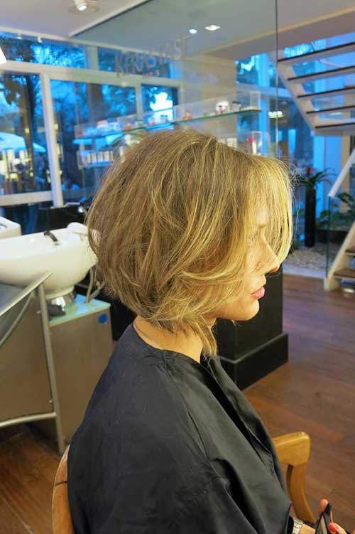 Short Blonde Hairstyles-16