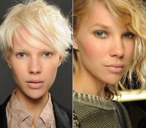 Short Blonde Hairstyles-19