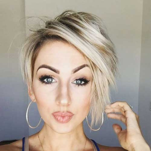 Short Blonde Hairstyles-20