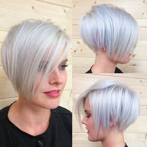 Short Hairstyle for Fine Hair