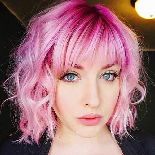 Really Lovely 20+ Short Pink Hair Ideas | Short Hair Color