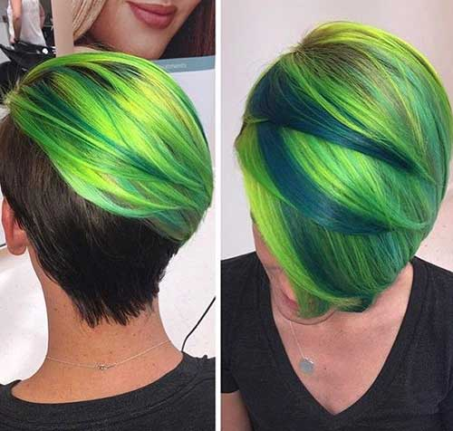 Hair Color for Short Hair-10