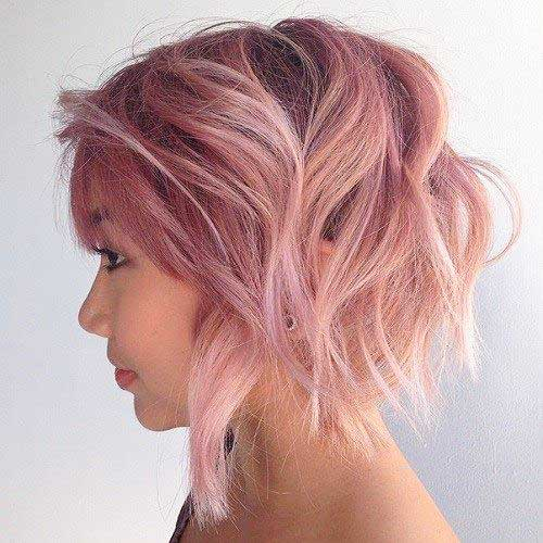 Short Layered Haircut - 11