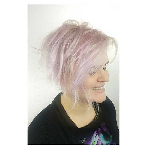 Short Pink Hairstyle - 11