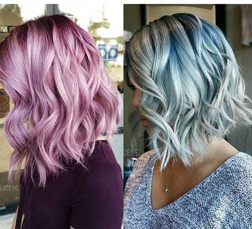 Hair Color for Short Hair - 12