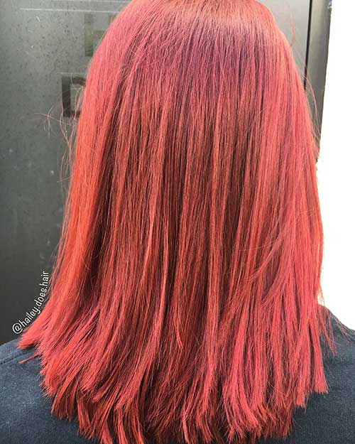 Red Short Haircuts - 12