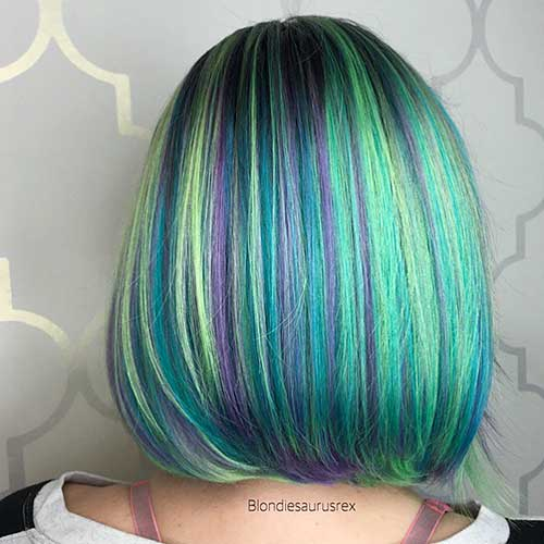 Short Green Hair - 12