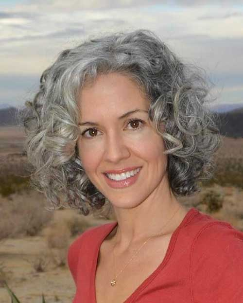 Short Grey Hair - 12