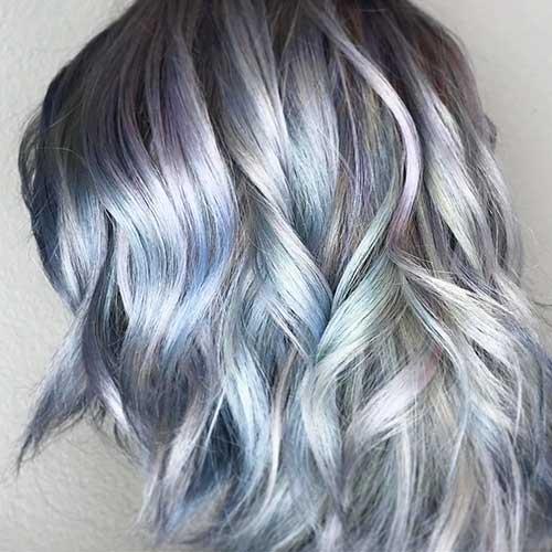 Short Silver Hair - 12