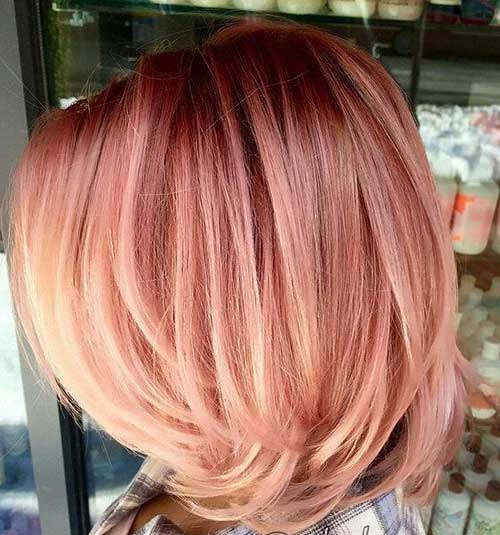 Hair Color for Short Hair-12