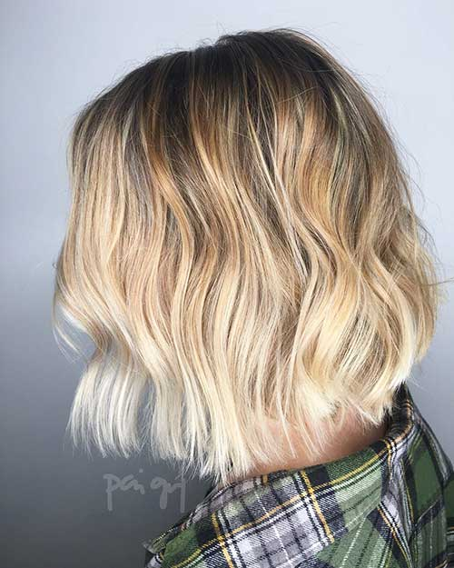 Balayage Short Hair 2017 - 13