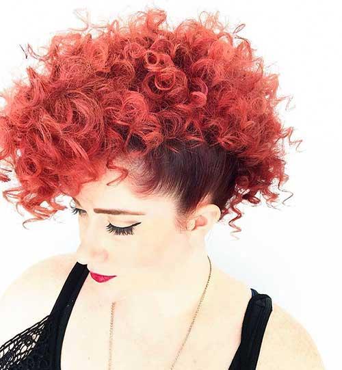 Red Short Haircuts 2017 - 13