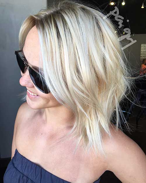 Short Blonde Hair 2017 - 13