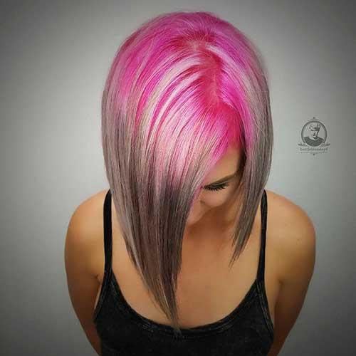 Short Pink Hair 2017 - 13