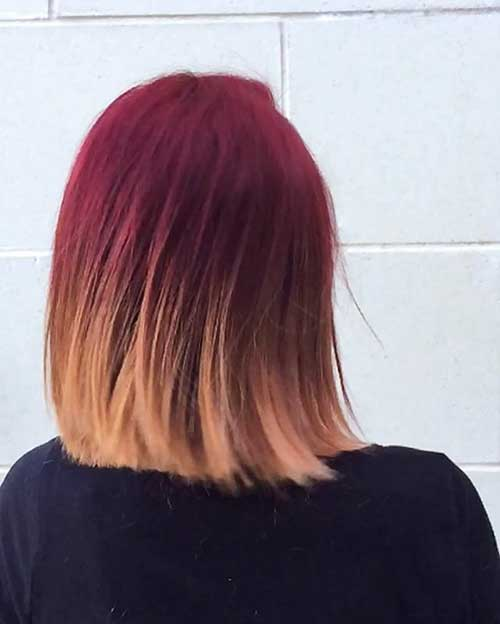 Gorgeous Red Short Haircuts - 14
