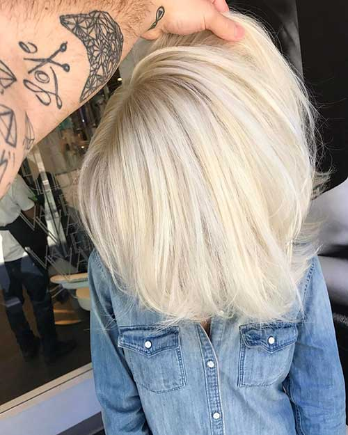 New Short Blonde Hair - 14