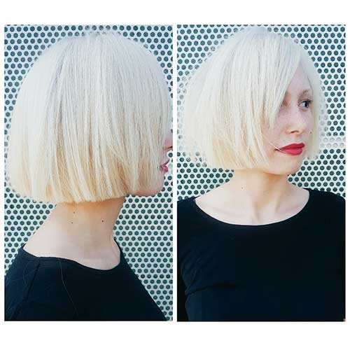 Short Straight Hairstyles - 14