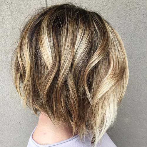 Short Hairstyles for Thick Hair-15