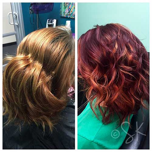 Red Short Haircuts - 16