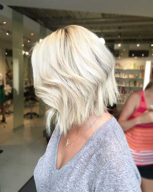 Short Blonde Hair - 16