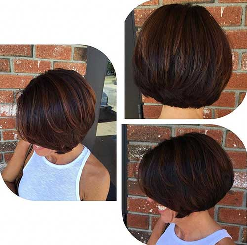 Outstanding Short Brown Hair For Ladies Short Hairstyles
