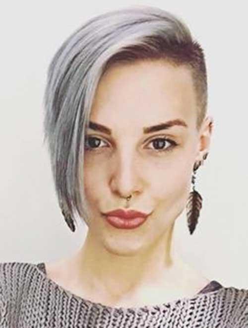 Short Grey Hair - 16