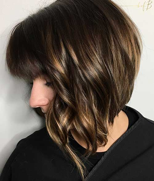 Short Haircuts for Thick Hair - 16