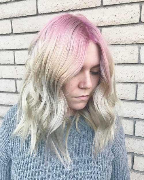 Short Pink Hair - 16