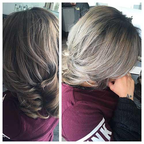 Short Silver Hair - 16