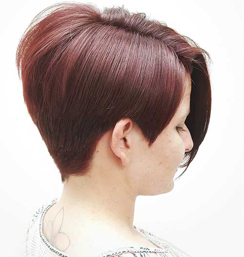 Red Short Haircuts 2017 - 17
