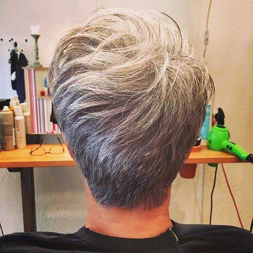 Short Grey Hair 2017 - 17