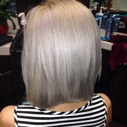 Short Silver Hair 2017 - 17