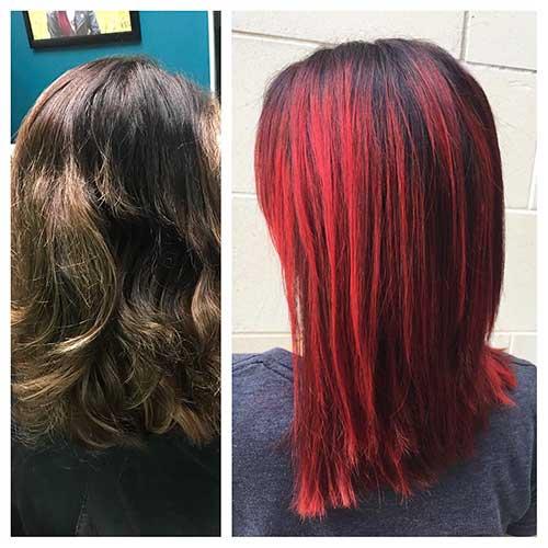 Red Short Haircuts - 18