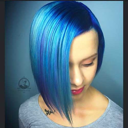 Short Blue Hair - 18