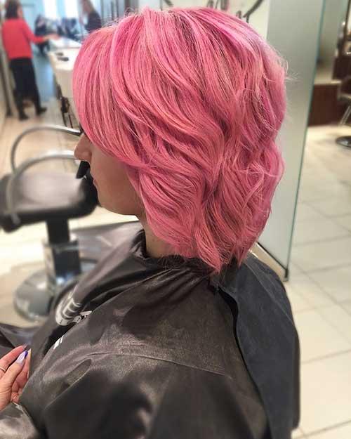 Short Pink Hair - 18