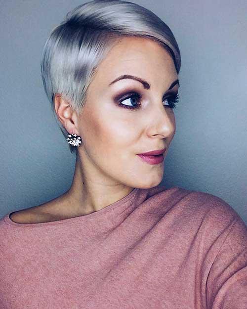 Short Silver Hair - 18