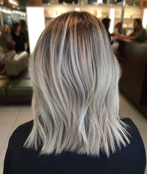 Balayage Short Hair 2017 - 19