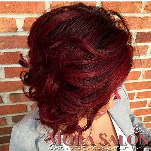 Red Short Haircuts 2017 - 19