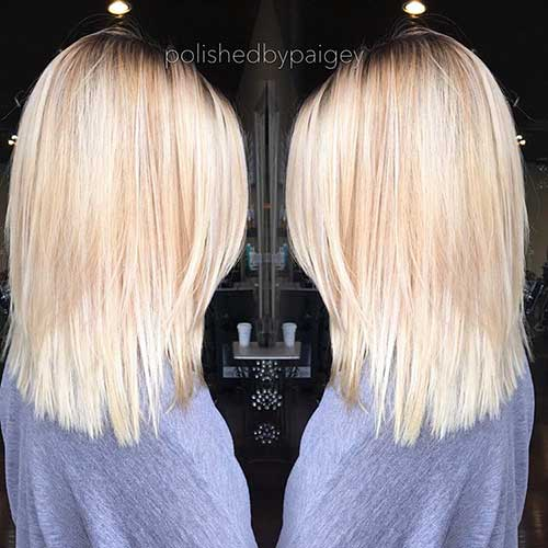 Short Blonde Hair 2017 - 19