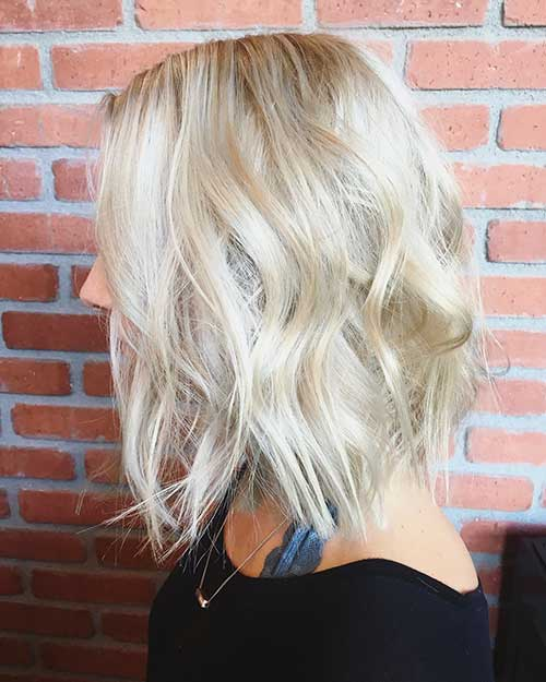 Short Blonde Hairstyles 2017 - 19