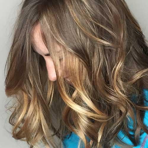 Short Brown Hair 2017 - 19