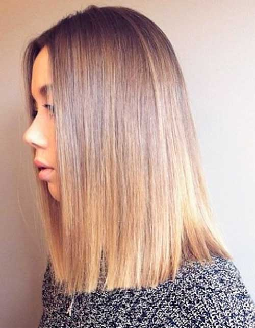 Short Straight Hairstyles 2017 - 19