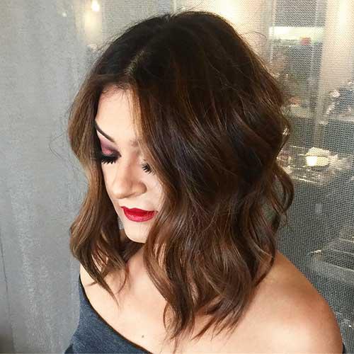 Short Wavy Hair 2017 - 19