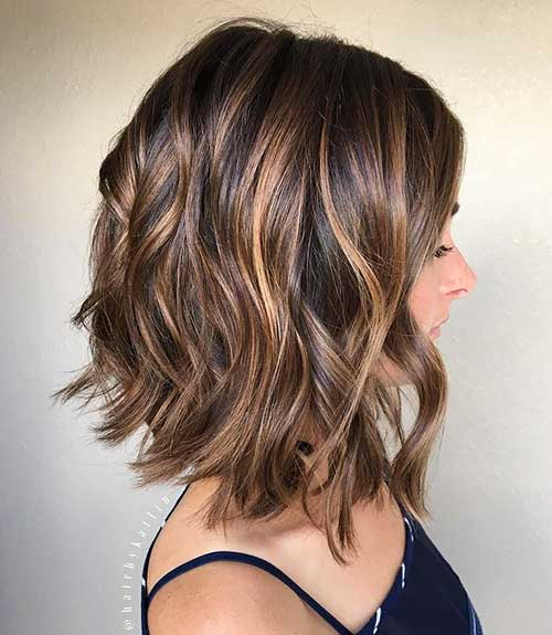 Short Brown Hairstyle