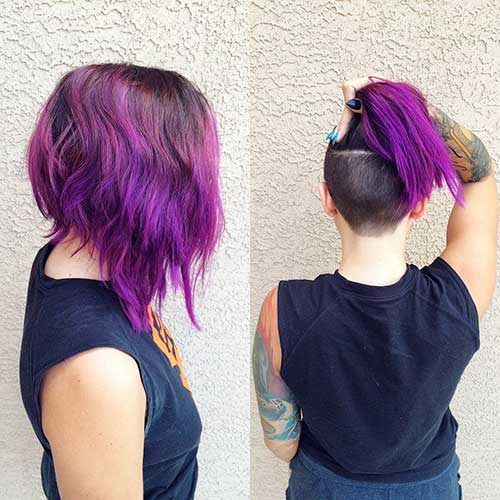 Short Hairstyle Color